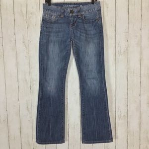 Guess Daredevil Bootcut Jeans Distressed Blue